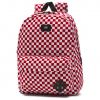 Balo Vans Old Skool Backpack Red/White Check