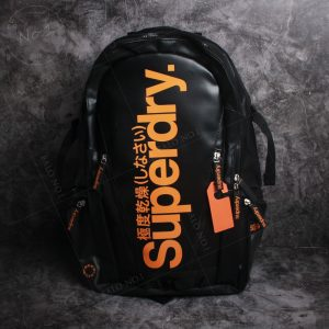 Balo Superdry Classic Tarpaulin Black/Orange