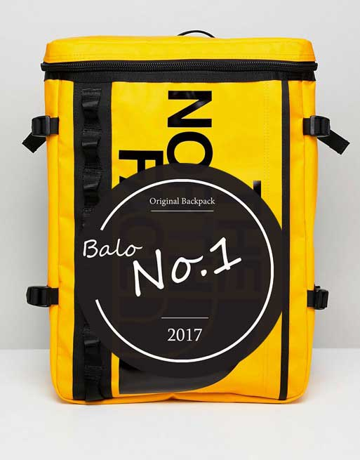 Balo The North Face Fuse Box Yellow/Black