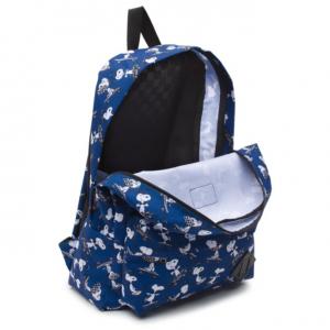 Balo Vans Peanuts Old Skool Backpack - Blue