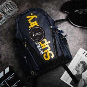 Balo Superdry Classic Tarpaulin Navy/Yellow