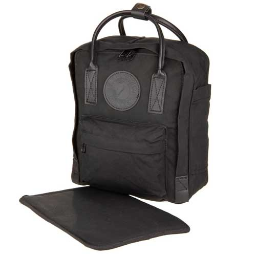 Balo Fjallraven Kanken No.2 Mini Full Black Limited