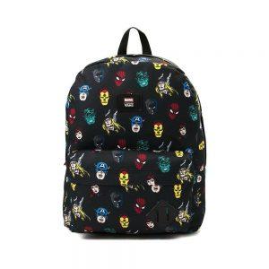 Balo Vans X Marvel Old Skool II Backpack - Black